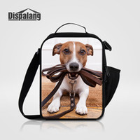 Wholesale Dog Cooler - Women Kids Men Cooler Lunch Box Bag Puppy Dog Printed Thermal Food Picnic Lunch Bags Pug Animal Children Insulated Adult Lancheira Container