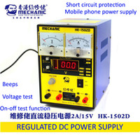 Wholesale Regulated Dc Power Supply Digital - MECHANIC hk1502d high precision regulated dc power supply 9V 12A Power Supply DC power supply Digital Display adjustable