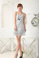 Wholesale crow harness - Europe and the United States hot sale lace harness women loose large size lace stitching sexy harness dress