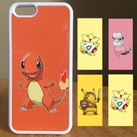 Wholesale Fast Phone Case - High Quality Pokeeeemon Go Cartoon Phone Case cute TPU+ Aluminum cases for iphone 6 6s plus samsung s6 s7 edge note 5 Fast Delivery for U.S