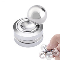 Wholesale Fidget Toy Magnetic ORBITER Hand Spinner Metal Finger Spinner For decompression anxiety Cotton retail packing
