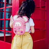 Wholesale Childrens Bag Cute - Two Use Way bags Children's Fashion Leather shoulder bags Baby's Cute Messenger bag Kid's Small Backpacks Childrens Mini bags 5 pieces CK013