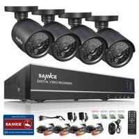 hd sistema de segurança à prova d'água venda por atacado-Cctv câmera sem fio wi-fi SANNCE HD 4CH CCTV Sistema de 960 H 1080 P Kit HDMI DVR 800TVL Segurança Ao Ar Livre À Prova D 'Água Night Vision