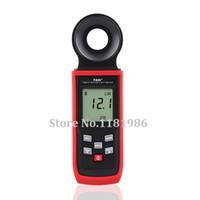 Wholesale Digital Lux Light Meter - Wholesale-TASI TA8121 High Quality 200000Lux Luxmeter Digital LCD Backlight Pocket Light Meter Lux   FC Measure Tester Photometer