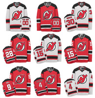 Wholesale Hockey Jersey Gionta - Customized New Jersey Devils Jerseys 30 martin brodeur 9 Taylor Hall 11 Gionta 4 Stevens Custom NHL Hockey Jerseys Stitched Any Name Number