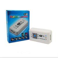Wholesale Ipad Ios Controller - Wholesale-DC12-24V WIFI LED Controller for RGB LED Strip Smart RGB Controller smart use for android ipad ios