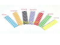 Wholesale pop line - 100pcs lot Wavy line style Popsicle Holders Pop Ice Sleeves Freezer Pop Holders 4x15cm for Kids Summer gift