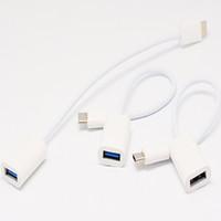 c n1 adaptateur achat en gros de-Câble adaptateur USB de type C à USB 2.0 de type A femelle pour Macbook 12 Téléphone Nokia N1 Tablet One Plus 2 avec emballage de vente au détail