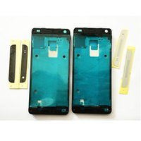 Wholesale Good New For HTC One mini M4 e s n Front Housing Frame Bezel Plate With Top Cover and Bottom Cover