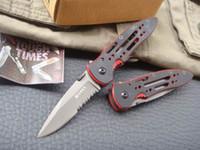 Wholesale Tactical Guard - OEM CRKT 6763G CRKT6763G Point Guard Half Serrated Blade EDC Folding Pocket Flipper knife Tactical Knives With original Box
