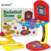 Wholesale Plastic Rod Stock - Wholesale Kids Baby Basketball Shooting Machine One or More Players Game Toys Parent-child Interaction Basketball Game toys