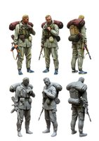 Wholesale Resin Figure Model Kit - Wholesale- 1 35 scale resin model figures kit commander of special troops GRU