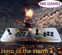 Wholesale Heros Games - Heros of the Storm 4, All Metal Fuselage Built-in Speakers and 986 Game Show, Lighting Upgrade.