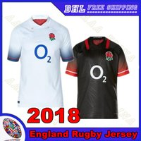 Wholesale Free England Shirt - England Rugby jersey 2018 home away Thai quality football uniform 2017 England Men Rugby shirt Free shipping S-3XL Thai quality