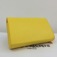 Wholesale Diagonal Zipper - Women's Classic Medium Monogran Strap Bag Diagonal Clutch With Chain Wrist Bag Shoulder Messenger Bag Handbag Wallet