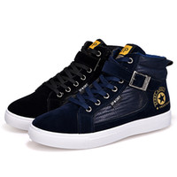 Wholesale Trend Casual Black Shoes - Men Casual Shoes Spring Autumn New Lace-up Style Fashion Trend Suede Flat Breathable Rubber Youth Shoe Man