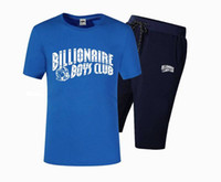 Wholesale Colorful Mens Suits - S4734 Free shipping S-5XL New Arrival BBC icecream Billionaire Boys Club suit Mens t shirts tees colorful letter style