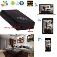 Wholesale Drop Shipping Power Bank - Wireless WIFI SPY Mobile Power Bank camera HD 1080P Night Vision Power Bank Camera Video Recorder DVR Motion Detection drop Shipping
