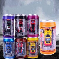 Wholesale Remote Controller 12 Channel - Remote Control Car Mini Cans Coke Tank Child Toy Charging Cars For Collection Gift Amusement Decoration Eco Friendly Material 23jy I1