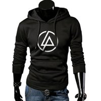 Wholesale Men Classic Hooded Jacket Hoodie - Wholesale-Rock band Hoodies Men Autumn Winter Tracksuits Letter printing Suits Men Classic Coats Jackets Hooded Sweatshirts Moletom