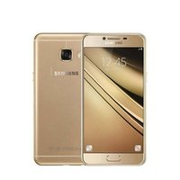 Wholesale Mobile C5 - Samsung Galaxy C5 Mobile Phone 5.2 inch Octa-Core 4GB RAM 32GB 64GB ROM LTE 16MP Android 1080P Wifi Dual SIM Refurbished Phone
