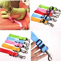 Cat Dog Car Safety Seat Belt Harness Регулируемый Pet Puppy Pup Hound Vehicle Seatbelt Lead Leash for Dogs Drop Shipping