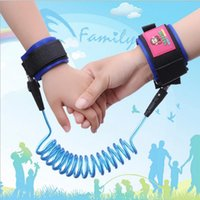 Wholesale 2 Meters Anti Lost Zone Traction Rope Children Anti Lost Rope Anti Lost Bracelet Baby Safety