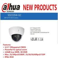 Wholesale Dahua Ptz - DAHUA 2016 Security Camera CCTV 2MP FULL HD 4x PTZ HDCVI Camera IP66 IK10 without Logo SD22204I-GC