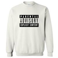 Wholesale Sweatshirt Hoodies Funny - autumn winter sweatshirt Parental Advisory Explicit Content 2017 hoodies men hip hop style tracksuit slim funny clothing