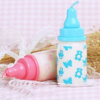 Wholesale Wholesale Gift Giveaways - Milk Bottle Birthday Candle Favors Baby Shower Wedding Favors Party Gifts Centerpieces Giveaway Accessories Decorative Candles Favors