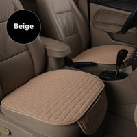 Wholesale Car Seat Covers Summer - car seat cover fiber flax nice interior accessories for summer in general size one piece selling