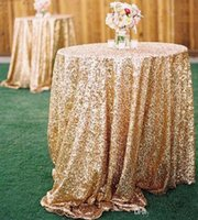 Wholesale Prom Decorations Cheap - Free Shipping 2017 Cheap Rose Gold Bling Bling Sequins Wedding Decorations Table Cloth Glitter Evening Bridesmaid Prom Party Dress Fabric