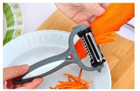 Wholesale Grater Multifunction - 4 in 1 Multifunction Potato Peeler,360 Degree Rotary Carrot Melon Vegetable Fruit Slicer Cutter Zesters,Kitchen Accessories Tools