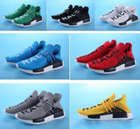 HOT Vente Promotion NMD HUMAN RACE Pharrell Williams X NMD Runner Chaussures homme femme Nouveautés Summer Spring Autumn Sneakers kids