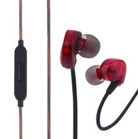 Wholesale High Fidelity Sound - High-Fidelity Sound Universal Sport Running Earphone Noise Isolation Wired Control In Ear Earphone With Microphone for iphone samsung mobile