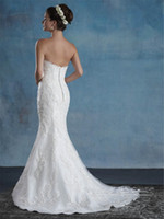 Wholesale Sexy Collared Vest - 2017 new custom sexy white applique vest collar activity tail wedding wedding cheap Mermaid Wedding Dresses shipping back zipper button