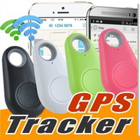 ITag Bluetooth 4.0 GPS Tracker Anti-Lost Alarm Tracer Bluetooth Key Finder Locator Fernbedienung Shutter für Smartphone mit OPP Bag