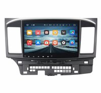 "Wholesale Lancer Dash Gps - 2GB RAM Octa Core 10.1"" Android 6.0 Car Audio DVD Player for Mitsubishi Lancer 2006-2015 With Radio GPS 4G WIFI Bluetooth TV Car DVD Player"