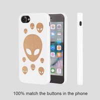 Wholesale i phones for sale online - U I Soft TPU Wood phone case for IPhone ultra slim wood cell phone cases for sales