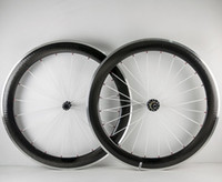 Wholesale 18 Inch Alloy Wheels - 60mm Dimple Surface Wheels Alloy brake 700C 25mm Width U shape Carbon Fiber Road Bike Wheelset Stickers Available Chinese