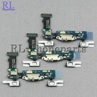 Wholesale Docking Keyboard - 10pcs lot Original Sensor Keyboard For Samsung Galaxy S5 I9600 G900F G900H G900M USB Charger Dock Charging Port Connector Flex cable ribbon