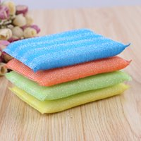 Wholesale Dish Wash Pads - sponge block Cleaning Cloths to wipe cloth dish cloth rag Household Cleaning Tools scouring pad wash cloth