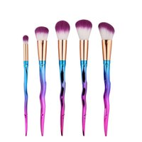 Wholesale sword set wholesale - Newest good products 5pcs makeup brush sword-shaped makeup tools free shipping