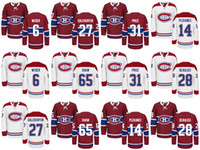 Wholesale montreal price - Wholesale Mens Montreal Canadiens #31 Carey Price Hockey Jerseys Ice Winter Jersey #27 Alex Galchenyuk #65 Andrew Shaw #6 Shea Weber