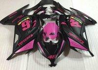 Wholesale Zx 14 Fairing Set - New Fairing kit For KAWASAKI ninja300 13 14 15 EX 300 ZX-300R ZX 300R EX300 2013 2014 2015 Injection ABS Fairings set matte black pink 46