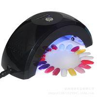 Wholesale 18w Led Curing Lamp - Wholesale- 18W gel polish uv lamp nail dryer LED UV CCFL Light Gel Curing uv lamp nail Lamps Popular Drying Gel Polish Nail Tools
