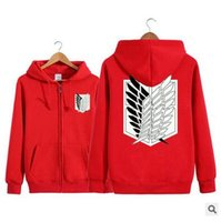 Wholesale Giant Advanced - Hot style of animation to advance the giant fleece thickening and velvet cosplay hoodie
