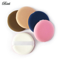 Wholesale Dry Make Up Sponges - Wholesale Flat Air Cushion Makeup Sponge Foundation Powder Dry Wet Make Up BB Cream Cosmetic Puff Pressed Concealer Soft Sponge