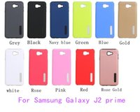Wholesale samsung galaxy grand prime back case for sale - For Samsung Galaxy J2 prime grand prime J5 prime ON5 A7 Hybrid Dual Layer Armor case Protective Back Case Shockproof Cover