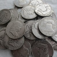 Wholesale Nice Gift Set - Full set of (1948-1963)PSD 37pcs Franklin Silver Promotion Cheap Factory Price nice home Accessories Silver Coins